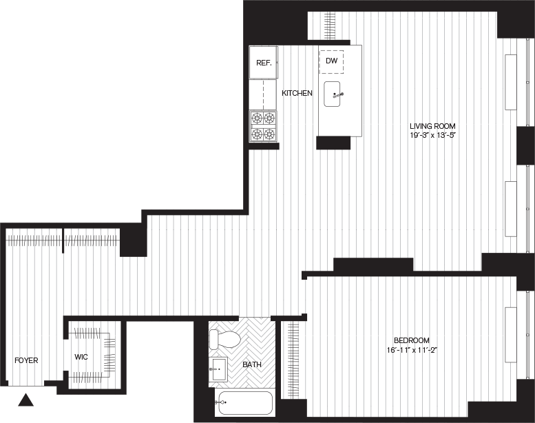 Learn more about Residence A, Floor 3