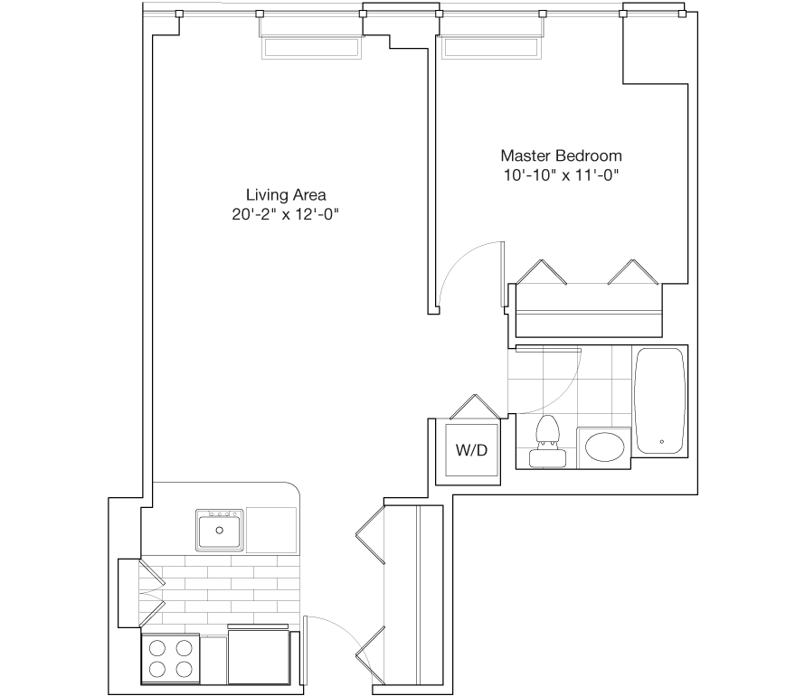 Learn more about Residence A, Floors 39-47