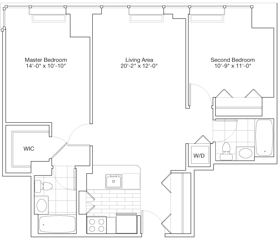 Learn more about Residence A, Floors 48-59