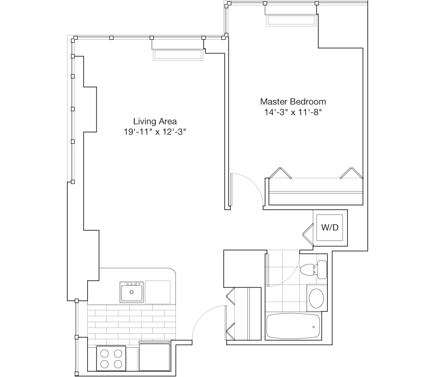 Learn more about Residence B, Floor 25