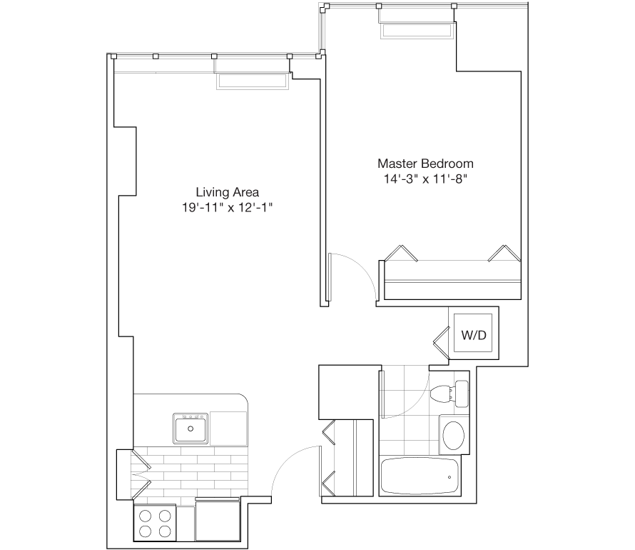 Learn more about Residence B, Floors 15-24