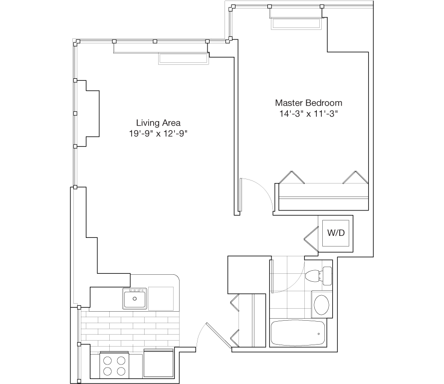 Learn more about Residence B, Floors 30-38