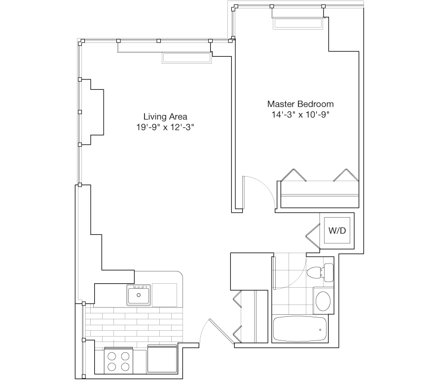 Learn more about Residence B, Floors 39-45, 47