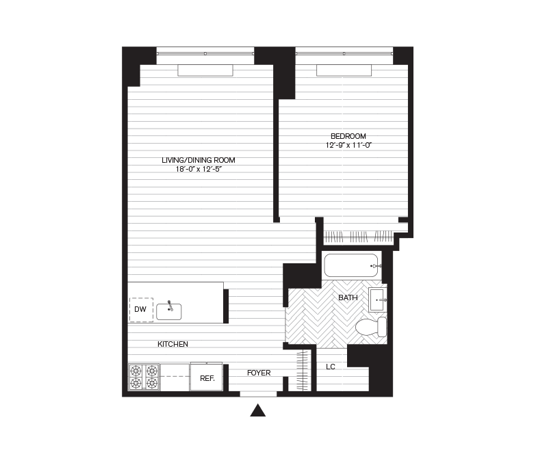 Learn more about Residence B, Floors 9-29