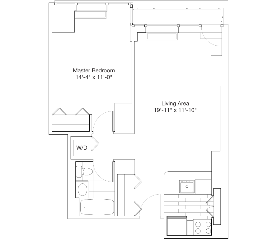Learn more about Residence C, Floors 14