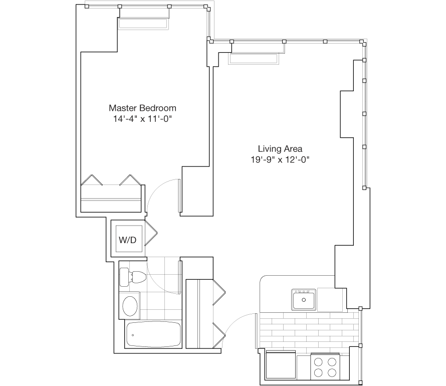 Learn more about Residence C, Floors 25-29
