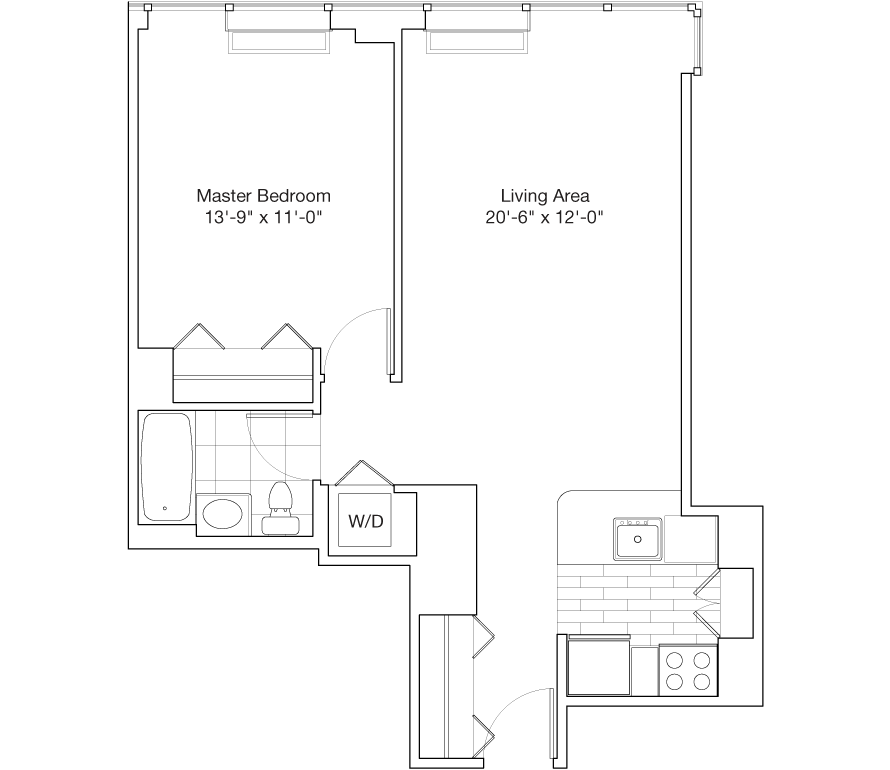 Learn more about Residence C, Floors 48-59