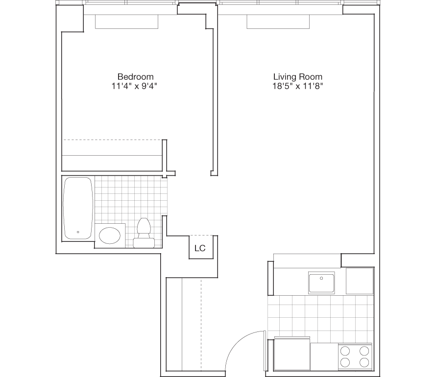 Learn more about Residence C, Floors 8-PH