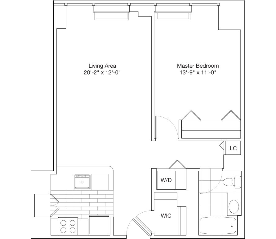 Learn more about Residence E, Floors 48-59