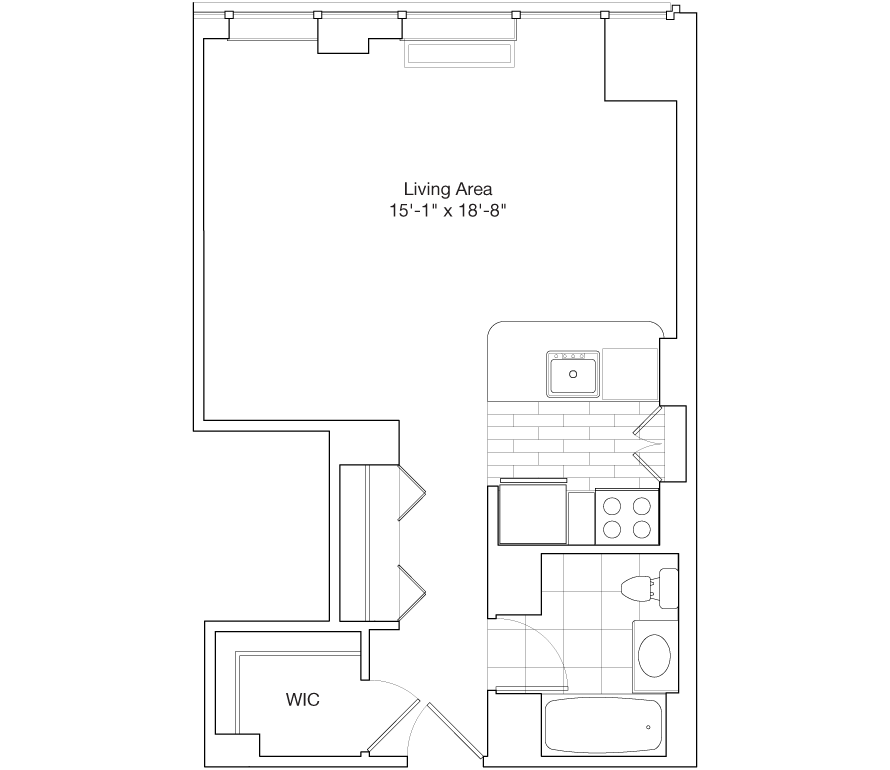 Learn more about Residence F, Floors 39-47