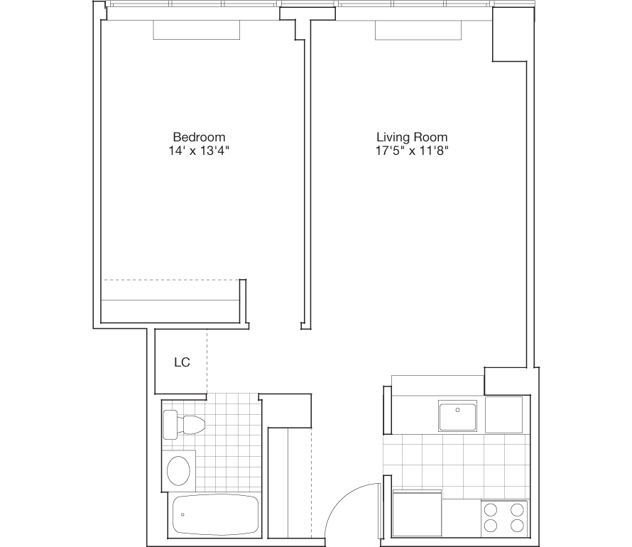 Learn more about Residence F, Floors 9-22