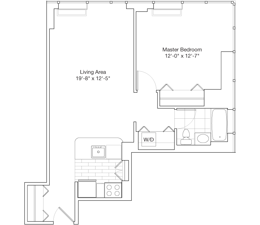 Learn more about Residence H, Floors 14-25