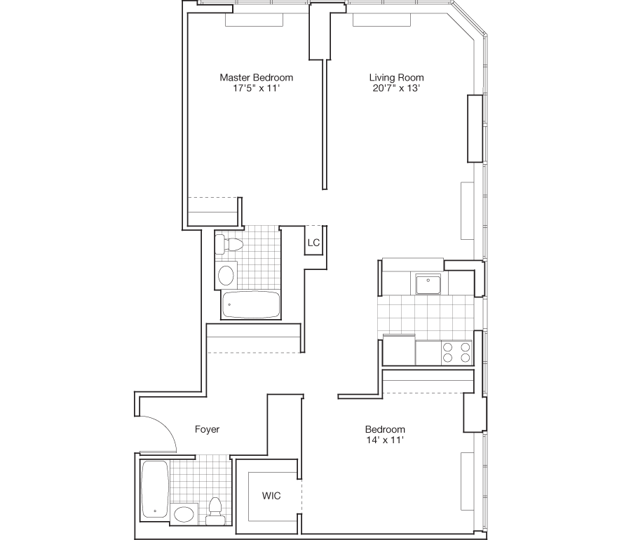 Learn more about Residence H, Floors 3-7